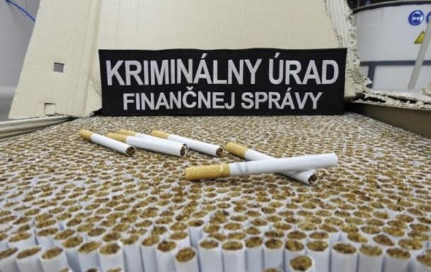 У Словаччині прикрили підпільну сигаретну фабрику з українцями