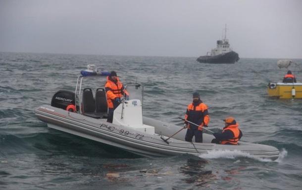 Встановлене місцеперебування чорних скриньок Ту-154
