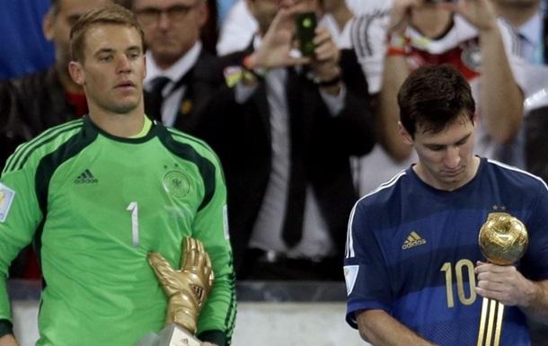 IFFHS: Ноєр знову найкращий воротар у світі, Хоуп Соло - третя