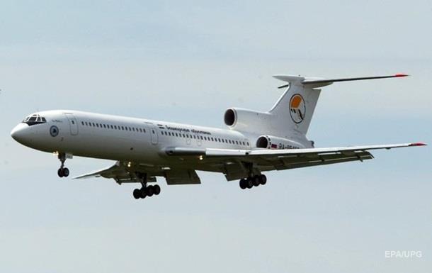 У Росії силовики поки не будуть літати на Ту-154
