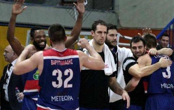 Баскетбол. Липовий видав найкращий матч в Греції