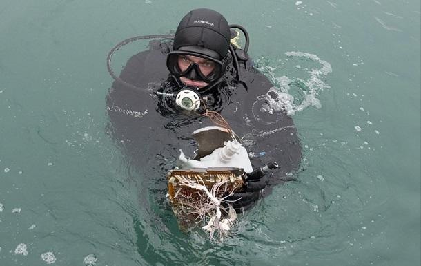 З дна моря підняли другу  чорну скриньку  Ту-154