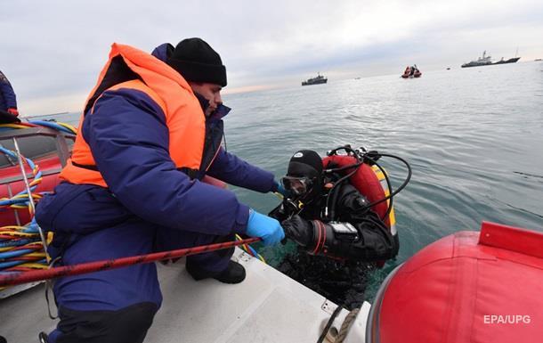 Знайдені ще три тіла на місці катастрофи Ту-154