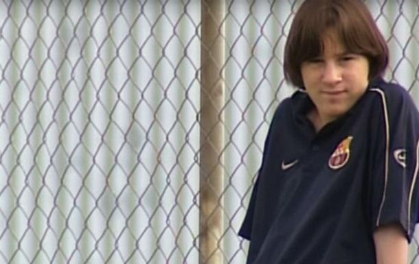Мессі, якого ви не бачили: космічний футбол від юного Лео