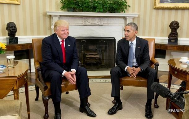 Трамп визнав, що хід передачі влади триває гладко