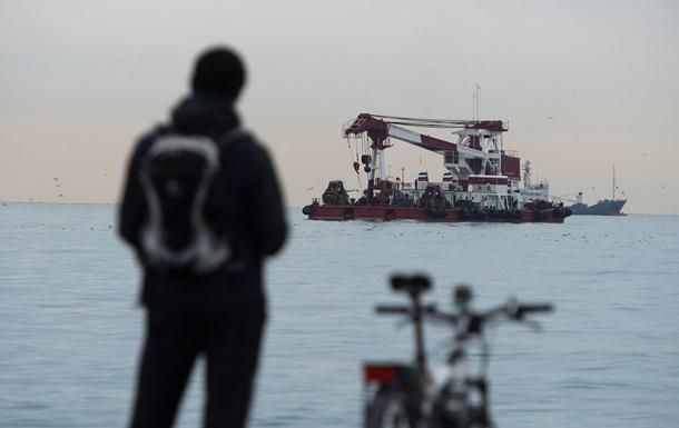 Знайдено пошкодження двигуна Ту-154, що впав
