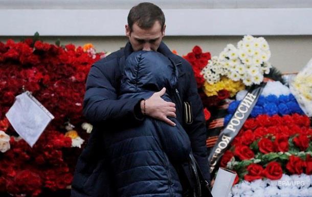Відбувся перший похорон жертв катастрофи Ту-154