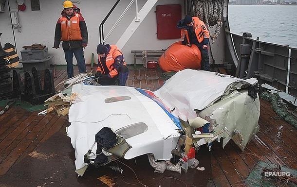 Поиск обломков после крушения Ту-154
