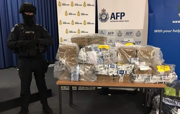 В Австралії вилучили кокаїн на 360 млн доларів
