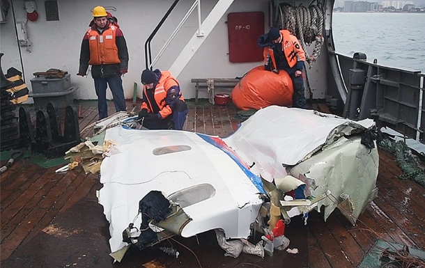 Аварія Ту-154. Слідство відкинуло версію теракту
