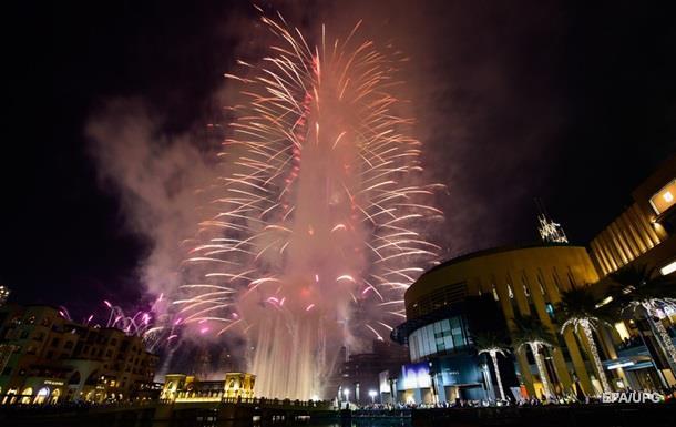 В ОАЕ відбувся грандіозний салют
