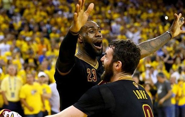 НБА. Кращі дії ЛеБрона торік