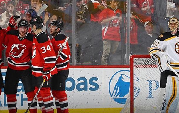 НХЛ. Ванкувер продовжує переможну серію, Нью-Джерсі громить Бостон