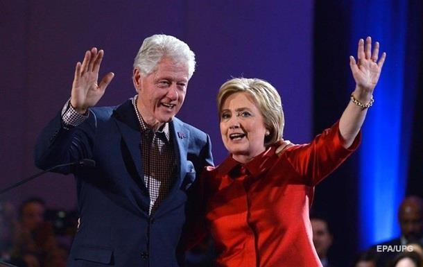 Білл і Хілларі Клінтон відвідають інавгурацію Трампа