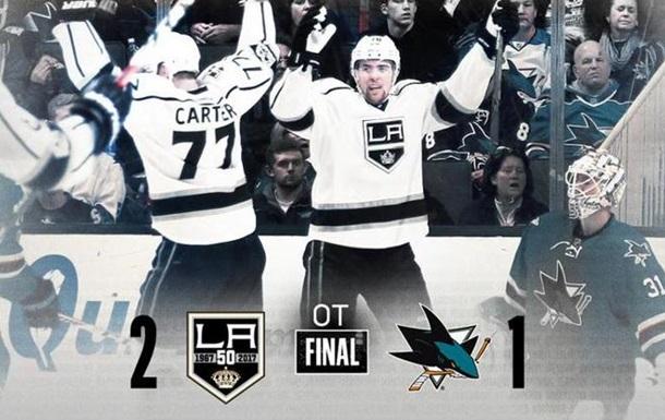 НХЛ. Королі з їли Акул
