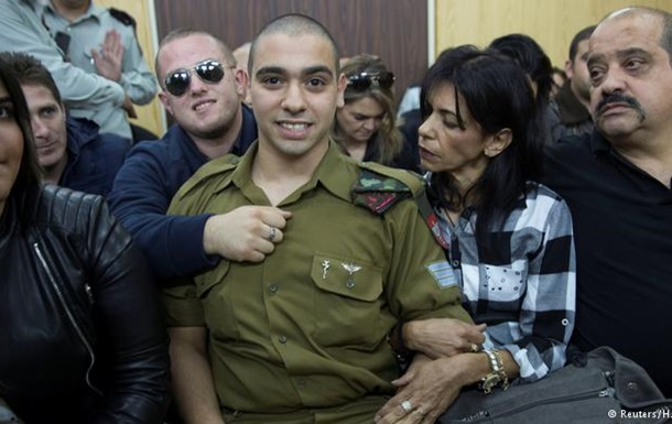 Ізраїльського солдата засудили за вбивство палестинця