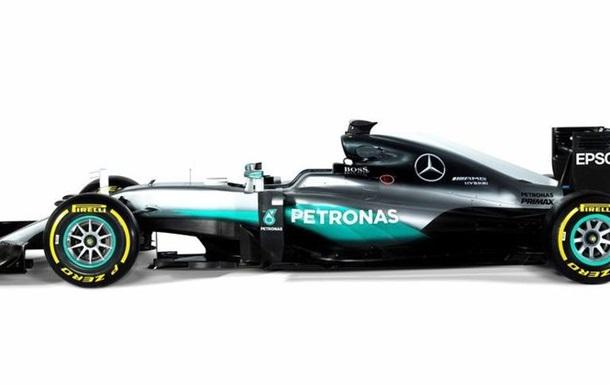 Формула-1. Mercedes представить машину 23 лютого
