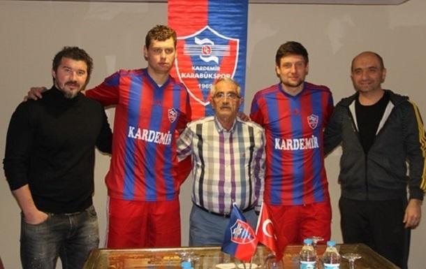 Офіційно: Селезньов і Рибка - гравці Карабюкспора