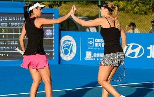 Теніс: українка Савчук вийшла у фінал парного розряду