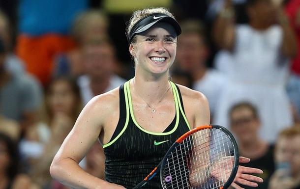Брисбен (WTA). Как Свитолина расправилась с лучшей теннисисткой мира