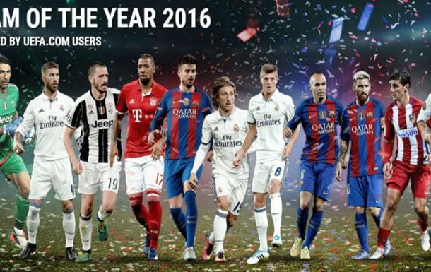 Роналду, Мессі, Грізманн і Бонуччі потрапили в символічну збірну УЄФА-2016