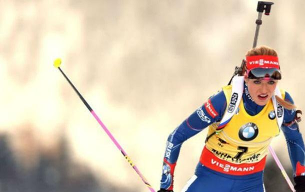 Биатлон. Коукалова выиграла спринт, три украинки в топ-20