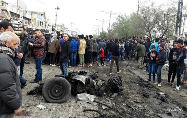 Через вибух у Багдаді загинули 12 людей