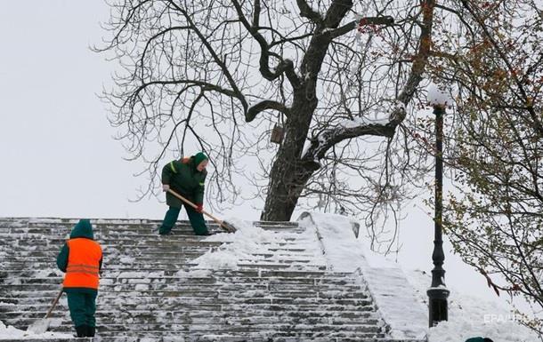 Погода в Україні: понеділок також сніговий