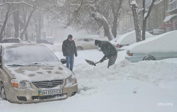 Негода в Україні: у чотирьох областях обмежено рух