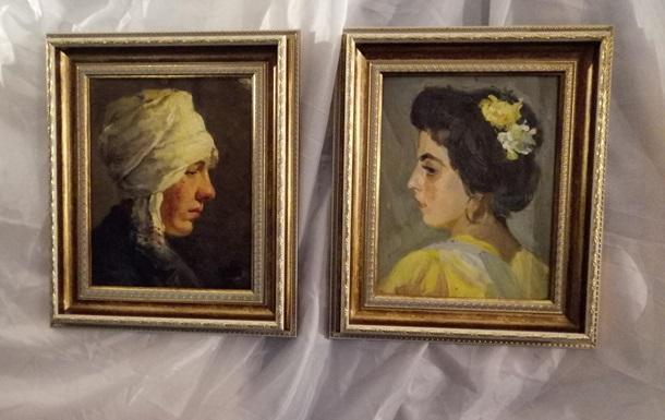 В Киев вернулись две картины Мурашко