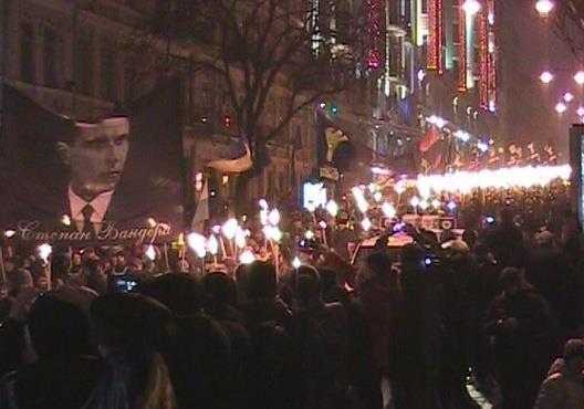 Украинские националисты прошлись маршем по жертвам Волынской резни