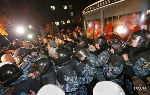 Беркутівців-розгонників Майдану не взяли під арешт