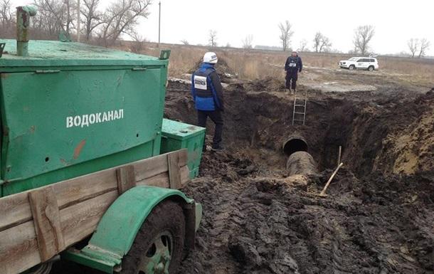 В Луганске 250 тысяч человек остались без воды