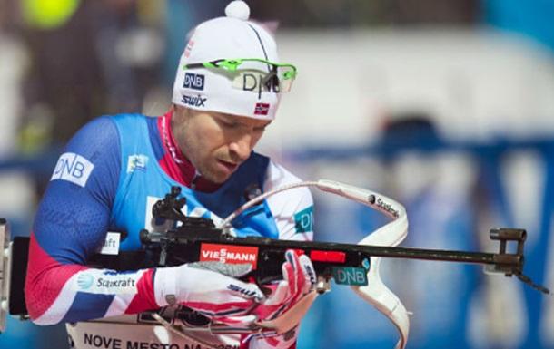 Биатлон. Свендсен выгрыз победу для Норвегии, Украина - четвертая
