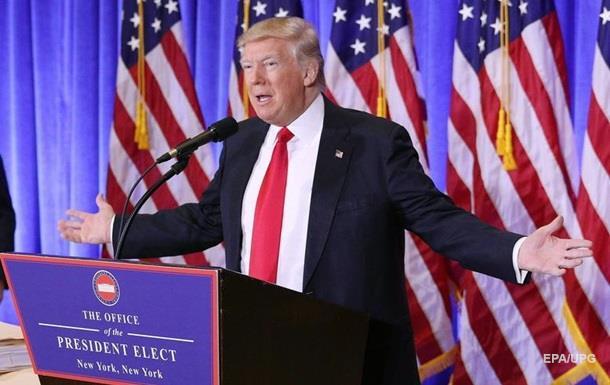 Первая пресс-конференция Дональда Трампа - трансляция