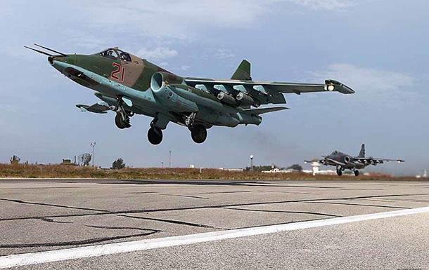Росія провела ротацію авіації в Сирії