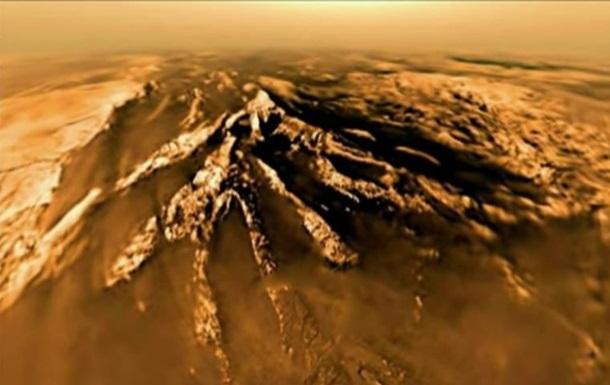 NASA показало першу в історії посадку зонда на супутник Сатурна
