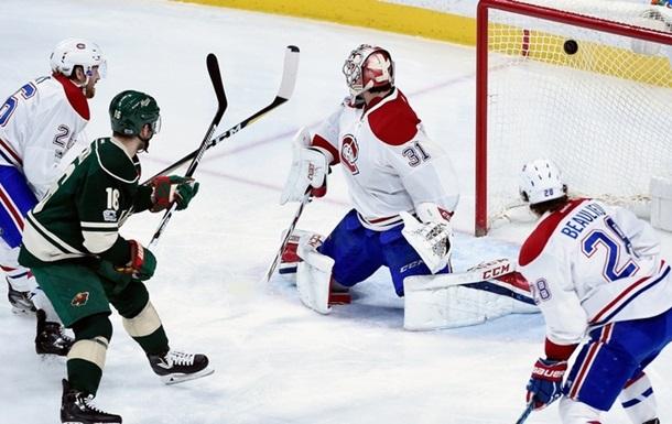 НХЛ. Міннесота знищила Монреаль, поразки Піттсбурга і Детройта