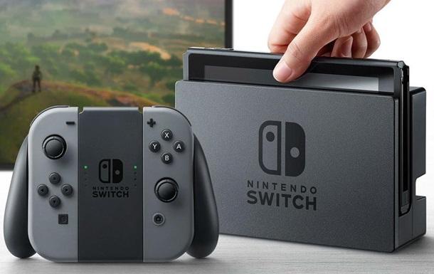 Nintendo презентовала игровую консоль Switch