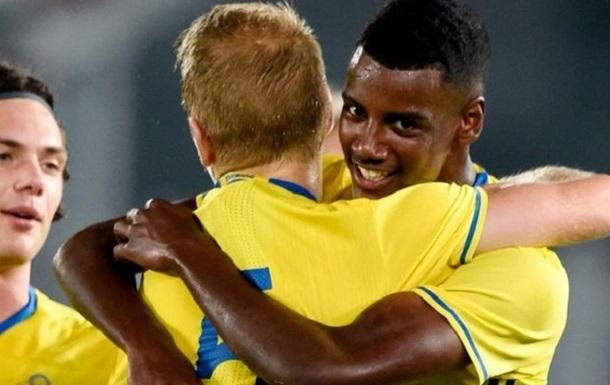 За сборную Швеции забил дебютный гол 16-летний вундеркинд