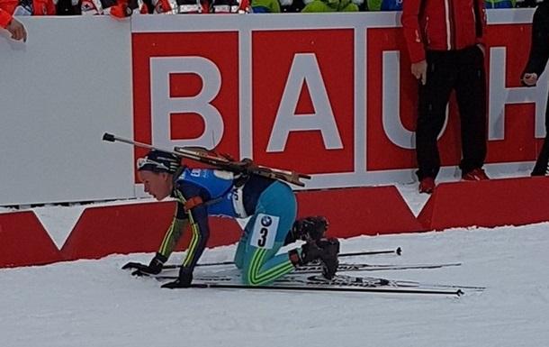 Італійська біатлоністка зламала палицю українці і віддала їй свою