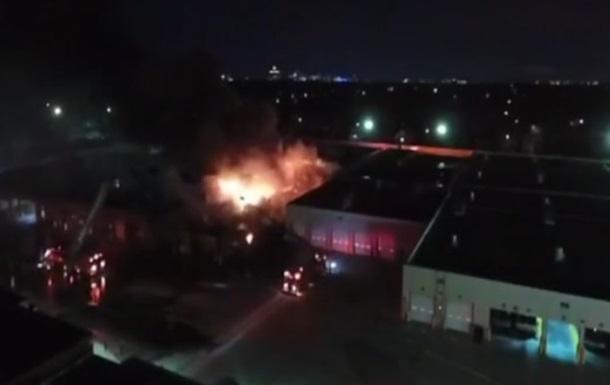 У Детройті горить автовокзал