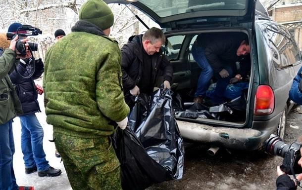 Тіла трьох морпіхів передали українській стороні