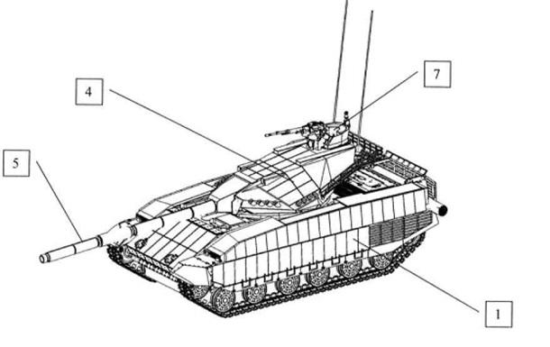 В Украине запатентовали новый танк Тирекс