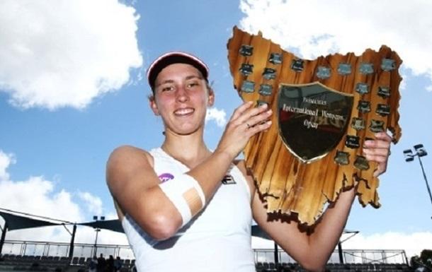 Хобарт (WTA). Нікулеску несподівано поступається титулом Мертенс