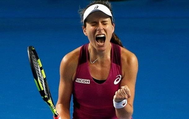 Сідней (WTA). Божевільний прийом Конти - найкращий удар на турнірі