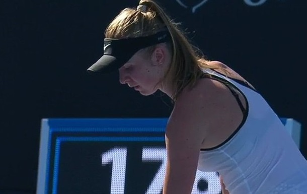 Свитолина выиграла 2 гейма в стартовом матче Australian Open