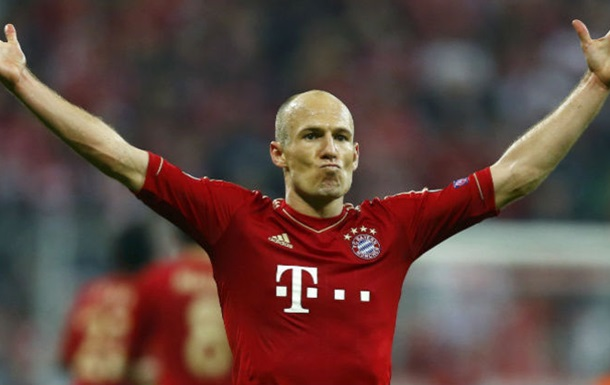Роббен подовжив контракт з Баварією