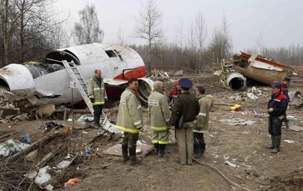 РФ передала Польщі записи переговорів з літака Качинського