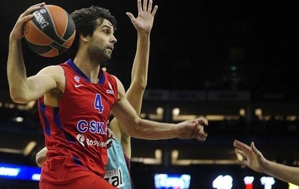 Теодосич став найкращим гравцем року в європейському баскетболі